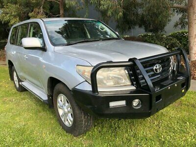 2009 Toyota Landcruiser VDJ200R 09 Upgrade GXL (4x4) Silver Automatic 6sp A