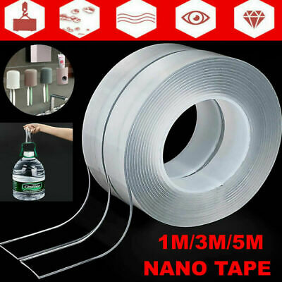 Nano Magic Tape Gel Grip Traceless Removable Clea Double-Sided Adhesive Washable