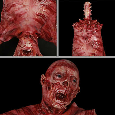 Halloween Decorations Ghost Props Realistic Severed Body Skeleton Prop Horror