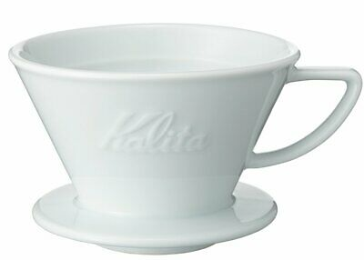 Kalita Wave Series Ceramic Coffee Dripper HA185 for 2-4 Cups 02135 New Japan.