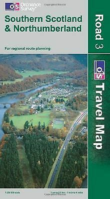 Southern Scotland and Northumberland (OS Travel Map - Ro...   Buch   Zustand gut