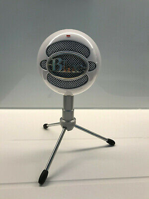 Blue Snowball Ice USB Microphone - White Tested with Stand and Booklet