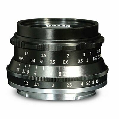 7 artisans 35mm F1.2 Prime Lens for SONY for Fuji for Canon for M43 Camera CT