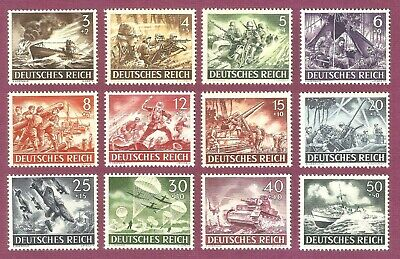 DR Nazi 3d Reich Rare WW2 WWII STAMP Whermaht Army Uniform Waffen SS MG34 Attack