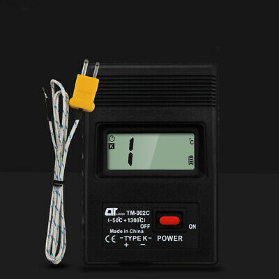 TM-902C Air Conditioning Outlet Digital Thermocouple Temperature Detector Sensor