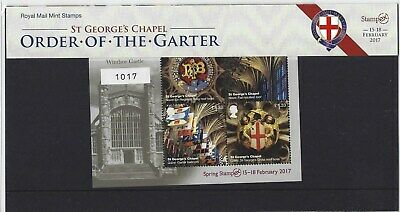 Great Britain 2017 Stampex Limited Edition Presentation Pack N0.1017