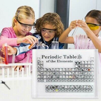 Acrylic Periodic Table Display of Elements Chemical Elements Table Teaching gift