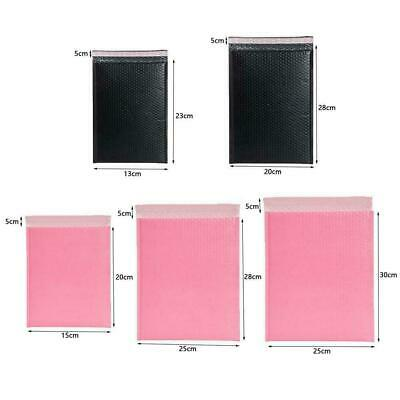 Pastel Pink Poly Bubble Mailers Padded Bags Shipping Mailing Envelopes Seal A9C6