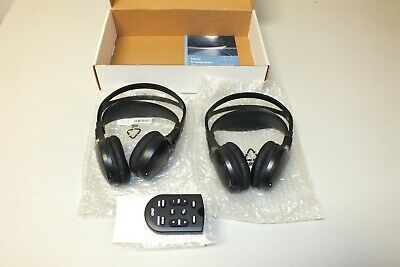 New Oem Ford Lincoln Mercury Dvd Wireless Infrared Headphones Headset W Remote