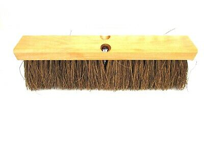 "Nos! 16""Garage Brush 4"" Palmyra Bristles #10816"