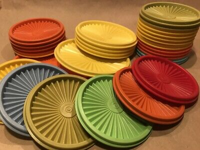 808 810 812 1205 806 VTG Tupperware Round Servalier Replacement Lid Seal CHOICE