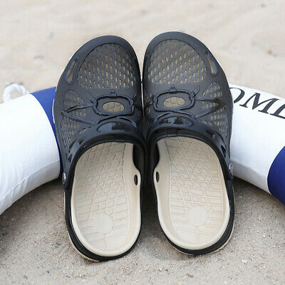 Mens Clogs Slip On Shoes Garden Beach Pool Water Sandals Summer Casual Slippers