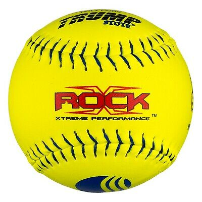 4U541Y - Half Dozen Balls 6 Dudley Thunder SY 40//.325 12 USSSA Slow Pitch Softball