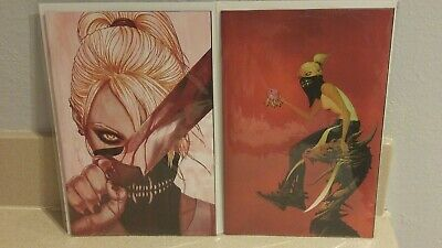 Something is Killing The Children #1, B cover and Frison Variant, VF - NM