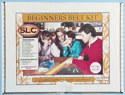 Springfield Leather Company BEGINNER'S BELT KIT