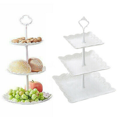 STYLE SQ 419 4 TIER SQUARE WEDDING CAKE STAND WITH FOUNTAIN