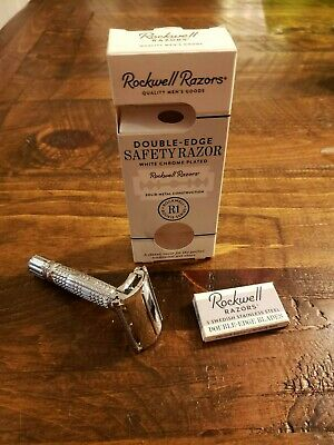 Rockwell R1 Rookie Butterfly Safety Razor (includes 5 blades) - Northern Grizzly