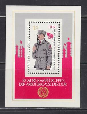 Ddr275 - East Germany Ddr 1983 Working Class Army Ss Mnh