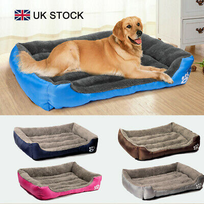 Bedsure Soft Cozy Warm Dog Bed Plus Size Pet Bed Kennel for Large Dogs