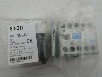 ONE NEW MITSUBISHI SD-Q11 24VDC Contactor
