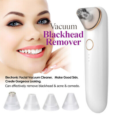 Electric Blackhead Remover Vacuum Suction Facial Acne Cleaner Extractor Tool NEW