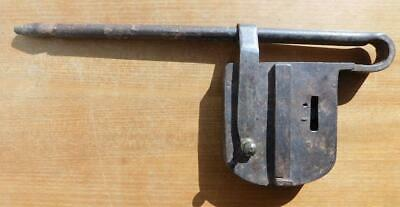 Very Early and Large Padlock Unknown Mechanism Georgian 1700s