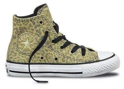 Converse Chuck Taylor Leopard High Top Trainers Uk 1 EUR 33 LIMITED ADDITION!!
