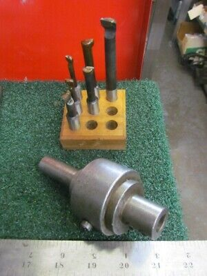 Richert-Schafer #1 Offset Boring Tool & 6 CT Boring Bars       H-979
