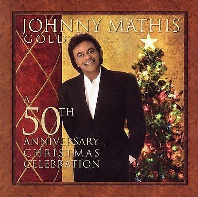 GOLD A 50TH ANNIVERSARY CHRISTMAS COLLECTION  Johnny Mathis (CD, 2006)