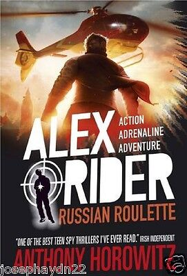 NEW  (10) RUSSIAN ROULETTE - ALEX RIDER book  Anthony Horowitz NEW COVER