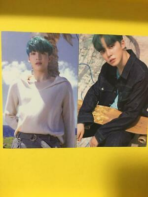 ATEEZ YUNHO 2 Set Signed MMT Treasure EP3 WAVE Ver Official Photo Card Japan