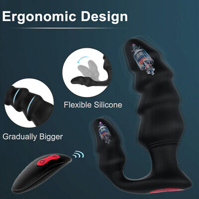 Waterproof-Vibrating-Dual-Ring-Male-Prostate-Massager-Remote-Control-9-Speed