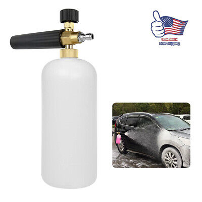 Foam Lance Snow Cannon Pressure Washer Gun Car Foamer Wash Quick Adapter Jet30oz
