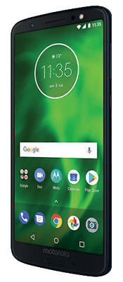 Motorola Moto G 6th Generation - 32GB - Deep Indigo (Unlocked) (Single SIM)