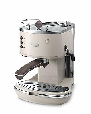 De'Longhi ECOV311.BG Icona Vintage 1100W 1.4L Espresso Ground Coffee Machine