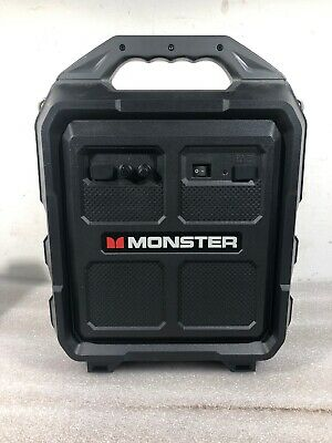 Monster Rockin' Rambler Portable Wireless Speaker | Mrr-S | Black