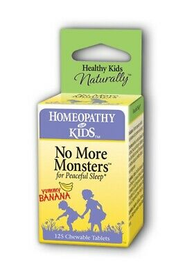 No More Monsters Herbs For Kids 125 Chewable
