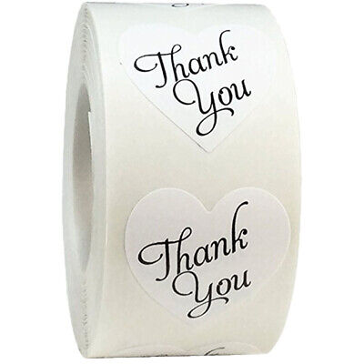 500pcs/roll thank you Stickers seal labels scrapbooking stickers for Package JFS