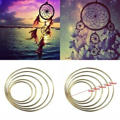 Easy To Use Handmade Welded Hoop Durable Iron Ring DIY Decoration Prop Craft