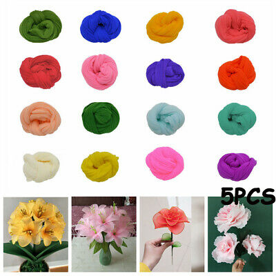 Wedding Party Nylon Stocking Silk screen Artificial Flower Accessory Tensile