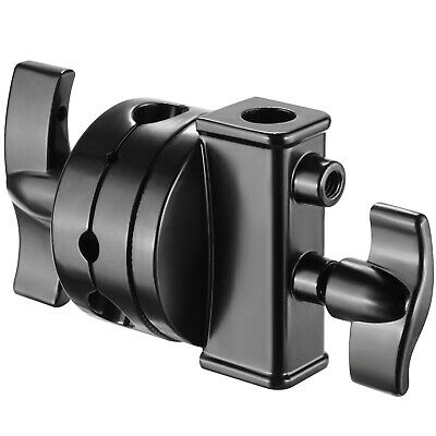 """Neewer 2.5"""" Grip Head Swivel Head Holder Mounting Adapter for Light Stand"""