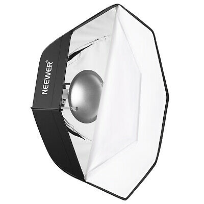 Neewer Photo Studio 24 inches/60cm Beauty Dish and Octagonal Softbox Combination