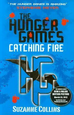 Catching Fire (Hunger Games, Book 2) by Suzanne Collins Paperback Book The Fast