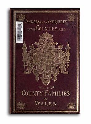 470 Rare Welsh History & Genealogy Books 3 DVDs - Wales Records Towns Cities L6