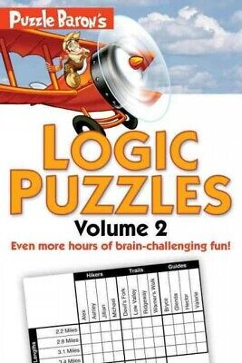 Puzzle Baron's Logic Puzzles, Paperback by Puzzle Baron (COR), Like New Used,...
