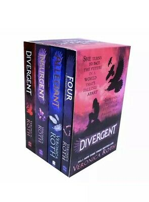 Divergent And Insurgent By Veronica Roth Collection 4 Books Set Brand New Pack