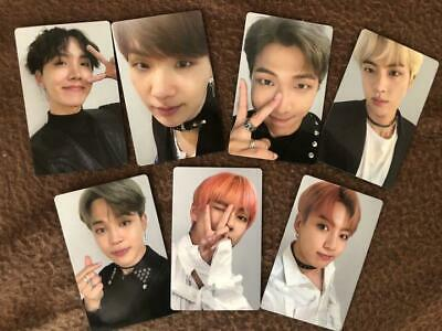 BTS FAKE LOVE Airplane official photocard jungkook taehyung Japan Chooseble