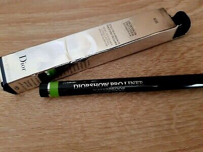 Dior Diorshow Pro Liner Waterproof 456 Matte Lime New Boxed Genuine