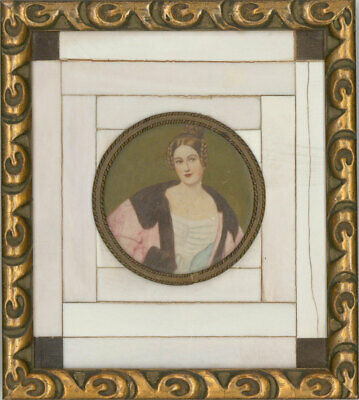 After Josef Karl Stieler - Early 20th Century Miniature, Countess Holnstein