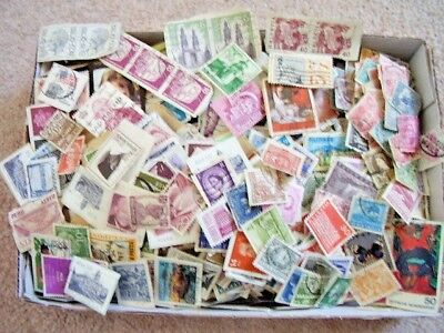 old stamp Collection, Thousand of stamps,various countries worldwide,antique